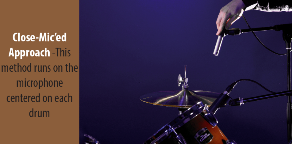 How to mic a drum set for live performance