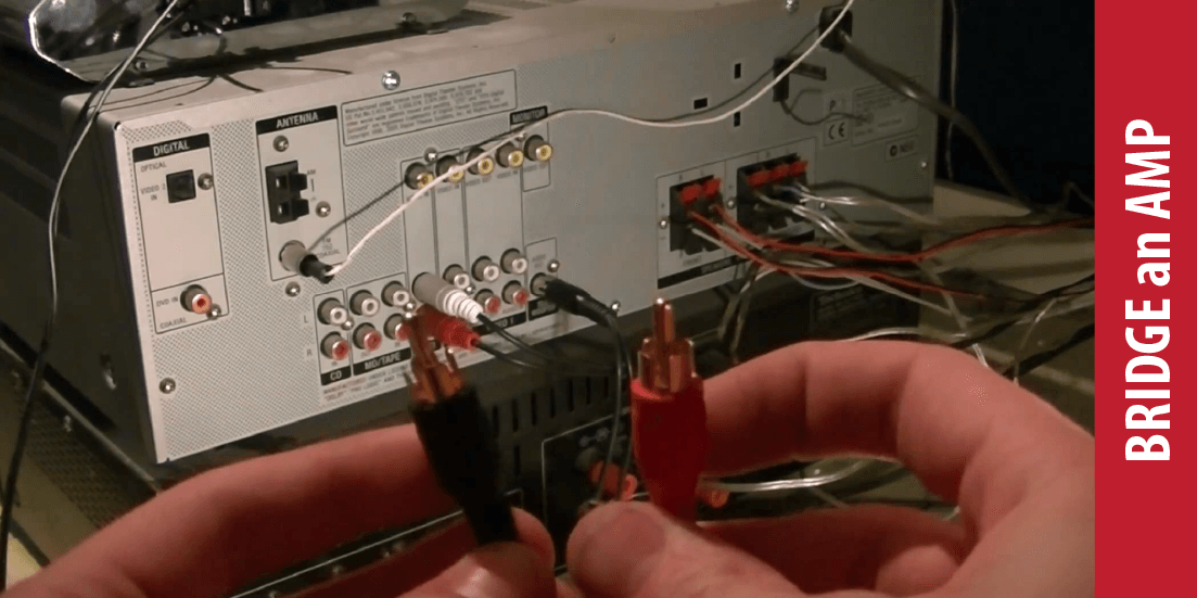 How to bridge an Amp