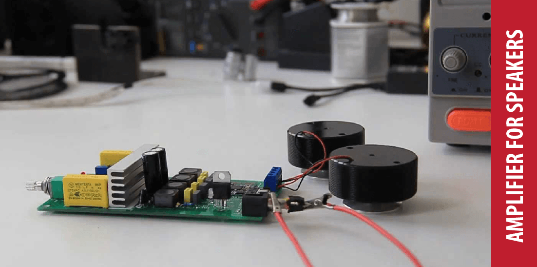 How to make an amplifier for speakers