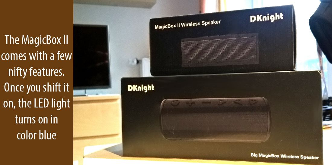 Everyday usage, battery and more of DKnight MagicBox II Speaker