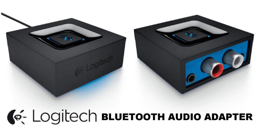 Logitech 980-000910 Bluetooth Audio Adapter for Bluetooth Streaming