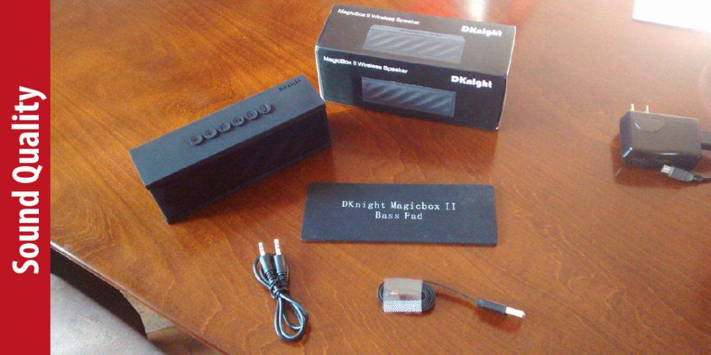Sound Quality of DKnight MagicBox II Speaker