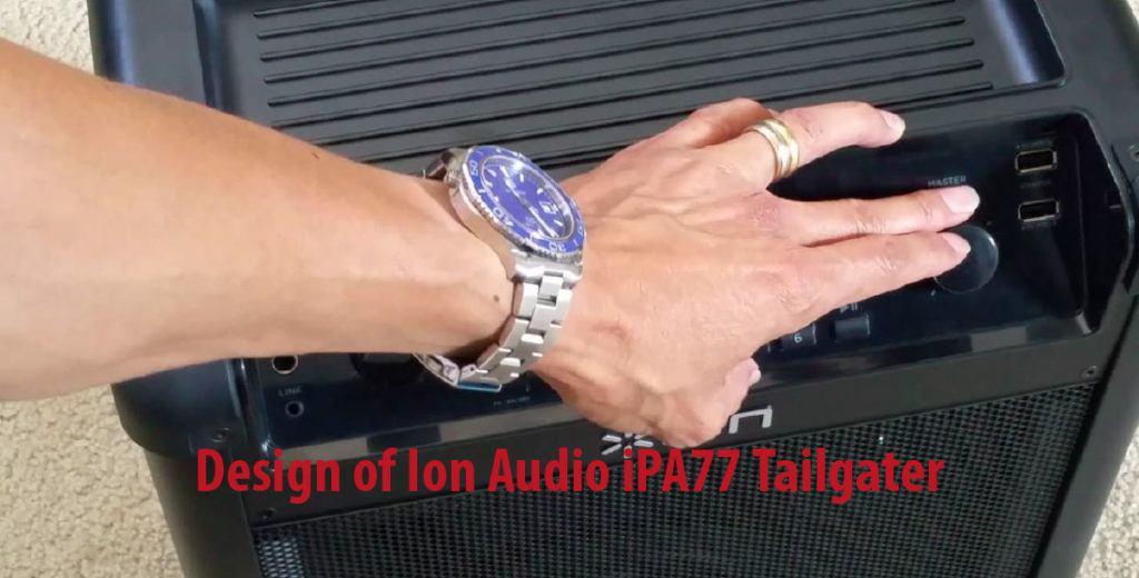 Design of Ion Audio iPA77 Tailgater