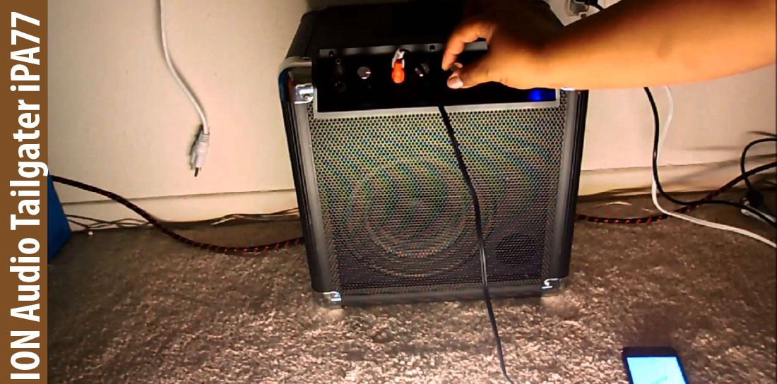 ION Audio Tailgater iPA77 Speaker Review