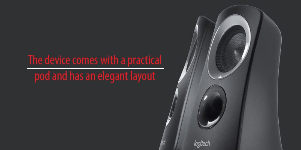 Design of Logitech Z313 Speaker System