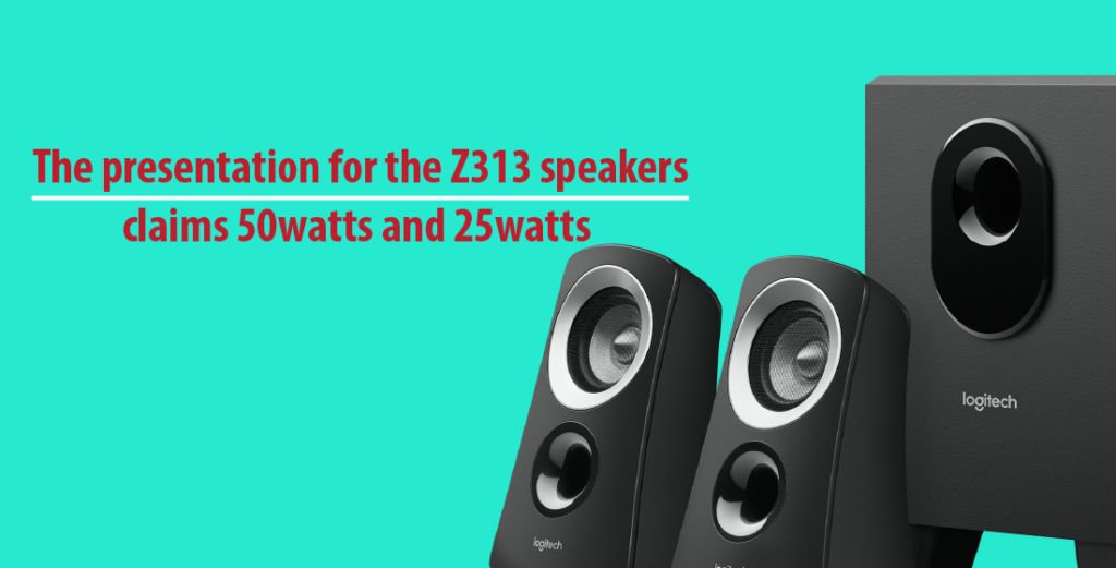 Logitech Z313 Speaker System Program amp
