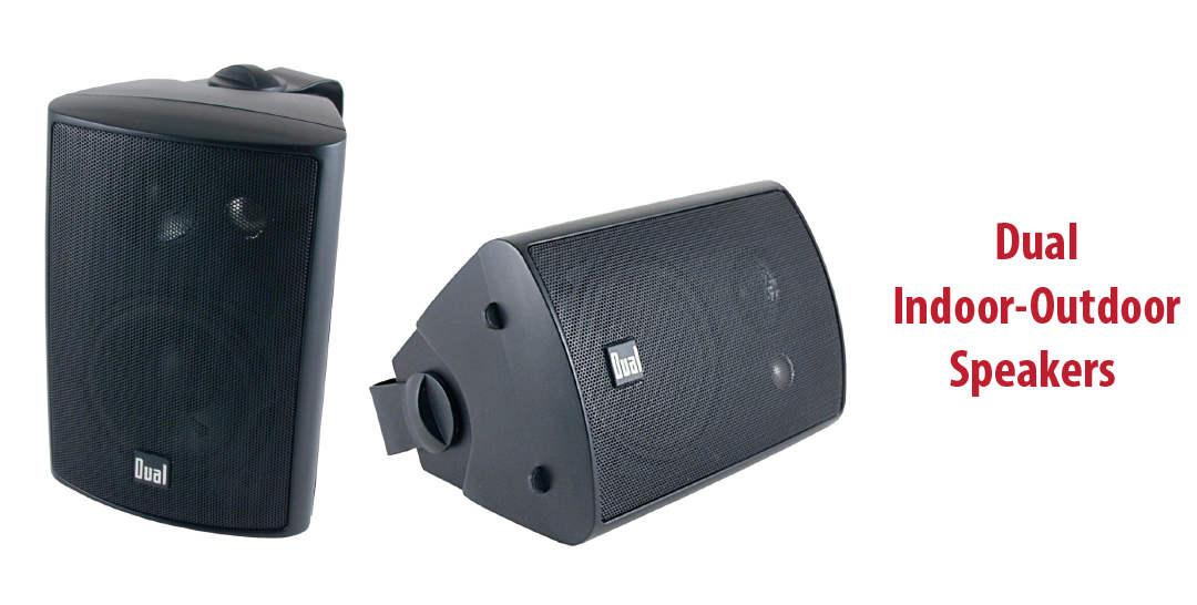 dual lu43pb indoor-outdoor speakers review