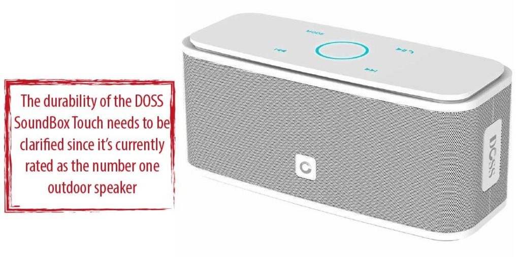 Durability of DOSS Wireless Portable Bluetooth Speakers