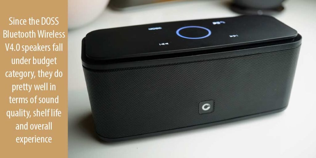 Sound of DOSS Wireless Portable Bluetooth Speakers