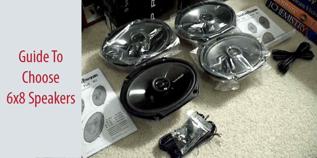 best 6x8 speakers