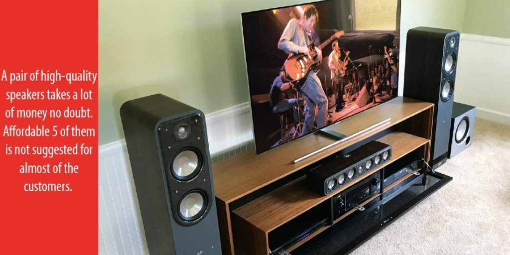 Home-theater speakers