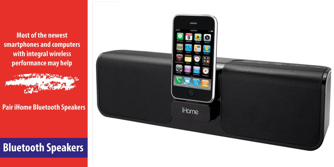 How to Pair iHome Bluetooth Speakers