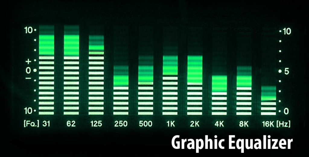 How to set the graphic equalizer?