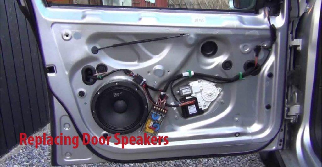 Replacing Door Speakers